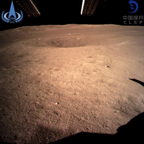 嫦娥4号成功着陆月球背面,带来人类史上第一张月球背面近照图片!